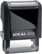 Self Inking Stamps come in many sizes, ink colors and font styles. Design your own stamp online.