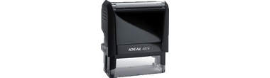 IDEAL 4914 Custom Self Inking Rubber Stamp comes in many ink colors and font styles. Create your own stamp online today. Rubber Stamp Man